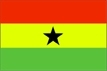 Ghana - vlajka