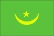 Mauritánie - vlajka