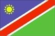 Namibie - vlajka