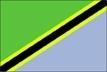 Tanzanie - vlajka