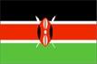 Keňa - vlajka