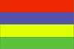 Mauricius - vlajka