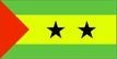 Svatý Tomáš a Princův ostrov - vlajka