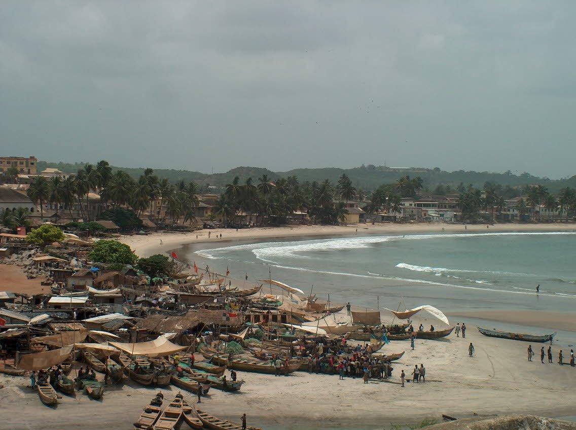 Elmina wiew  (Ghana)