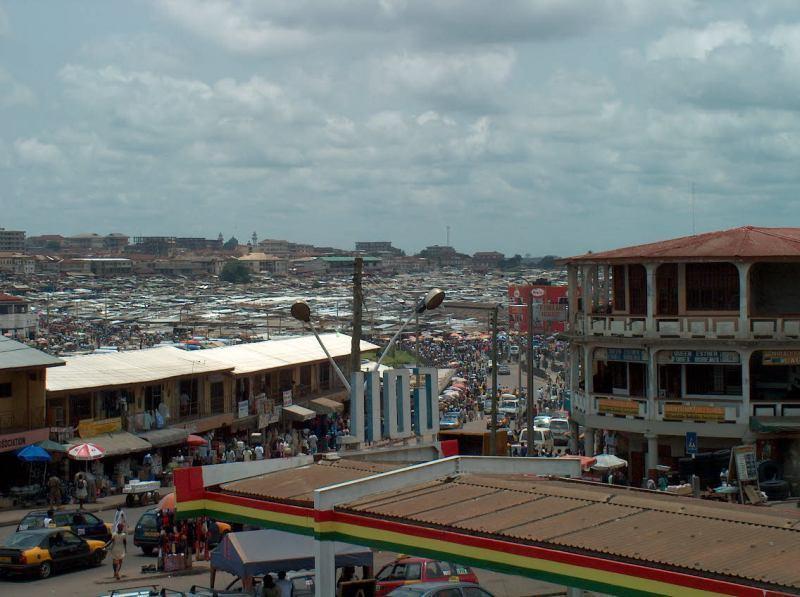 trh Kejetia, Kumasi, Ghana