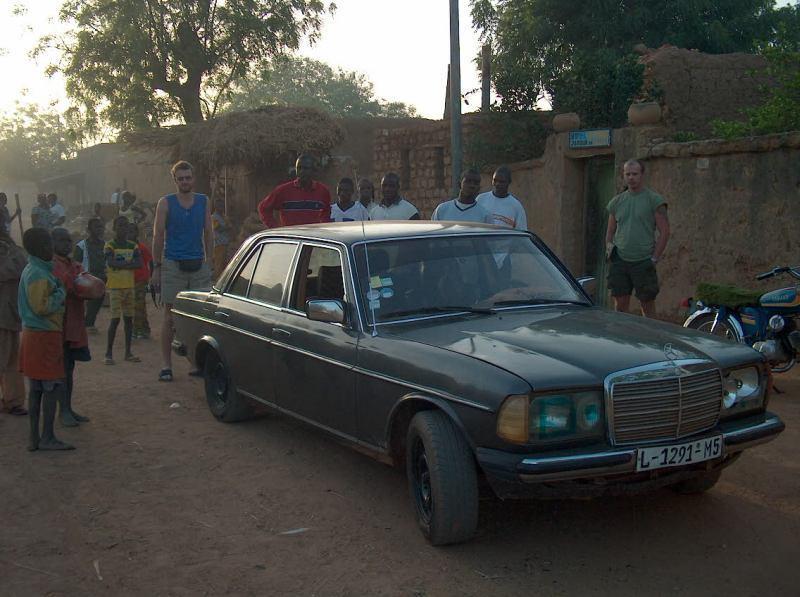 Larabanga - taxík