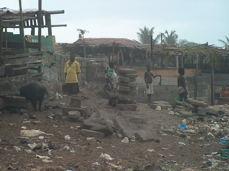 vesnice Elmina (Ghana)