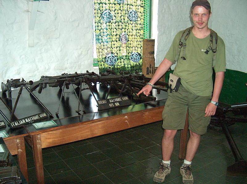 vojenské muzeum Kumasi