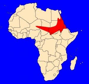výskyt kobry núbijské