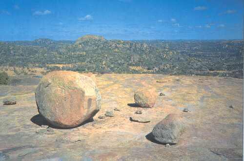 Žulová plošina Matabele