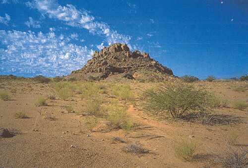 Inselberg, Severní Kapsko, Jihoafrická republiky